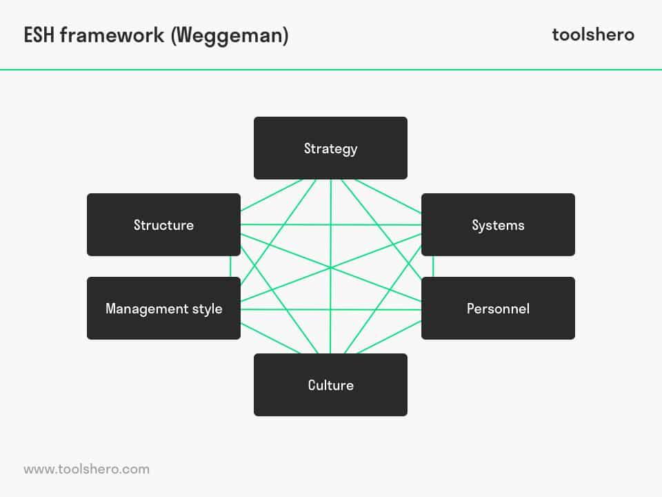 ESH framework by Mathieu Weggeman - toolshero