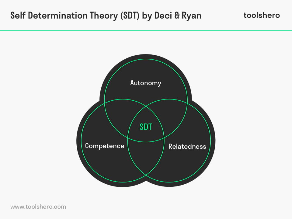 Self Determination Theory model - toolshero