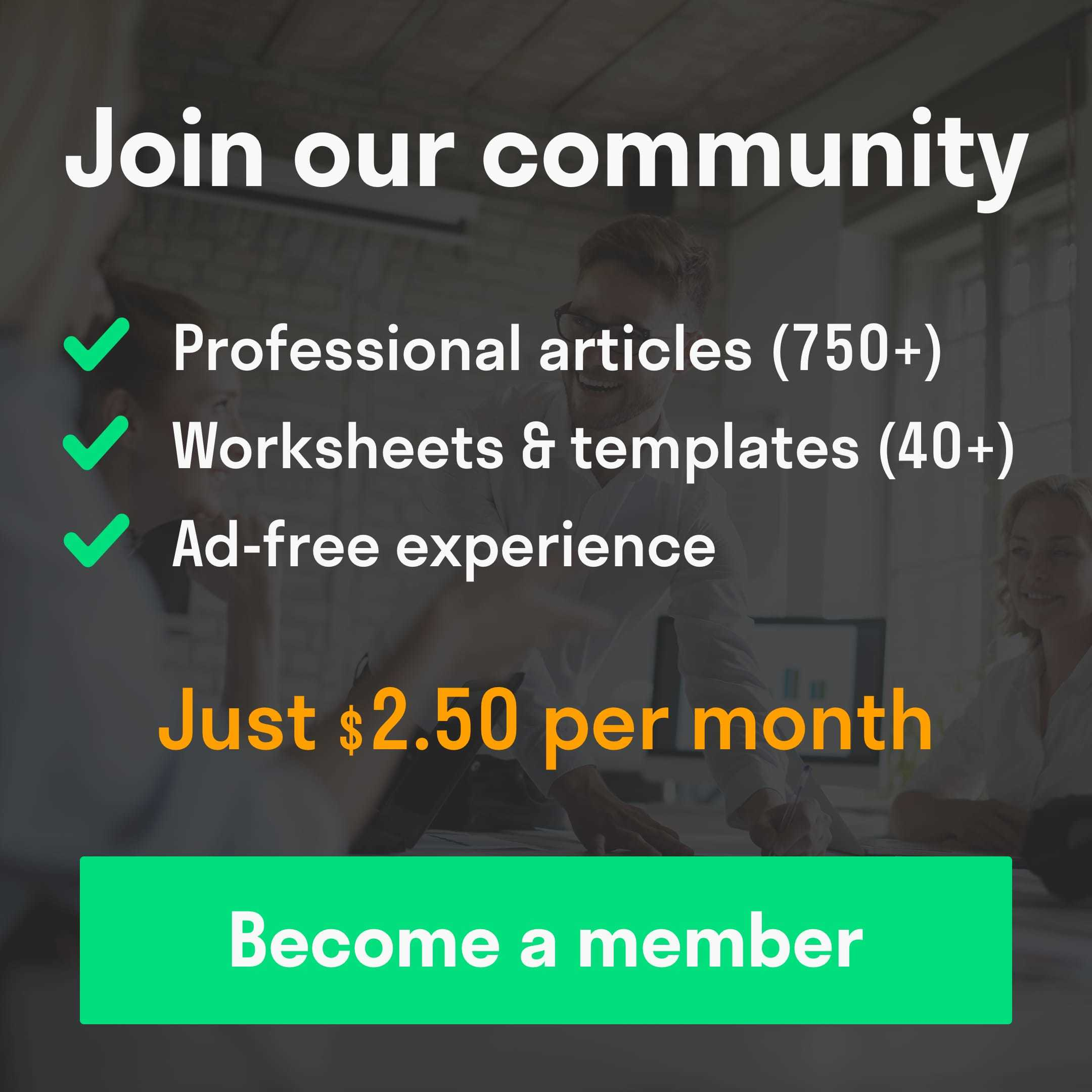 become a toolshero community member