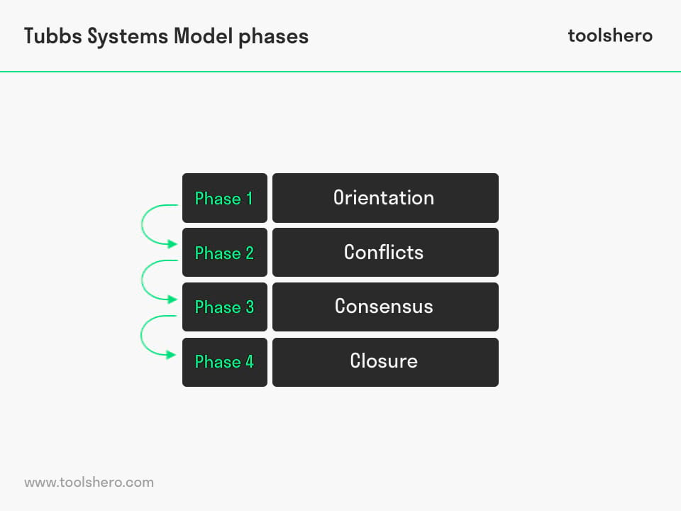 Tubbs Systems Model Phases - toolshero